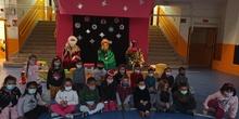 VISITA DE LOS REYES MAGOS. Infantil, 1º y 2º. Navidad 2020