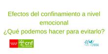 Efectos del Confinamiento a Nivel Emocional