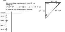 Trigonometría: 16.Ejercicio de razones alfa y beta