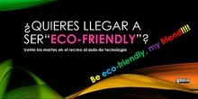 Documento para difundir actividades del equipo de convivencia - Cartel Ecofriendly.pdf: Documento para difundir actividades del equipo de convivencia - Cartel Ecofriendly.pdf