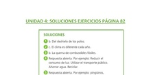 Soluciones página 82