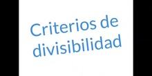 PRIMARIA_6º_CRITERIOS DE DIVISIBILIDAD_MATEMÁTICAS_IGNASI