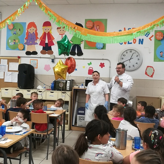 Visita del chef Sergio Fernández - Nutrifriends en el Comedor 4
