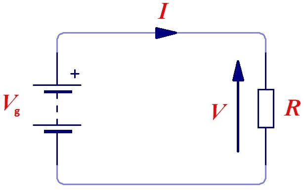 Ohm`s Law circuit