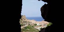 Gruta en Cala Morell, Menorca