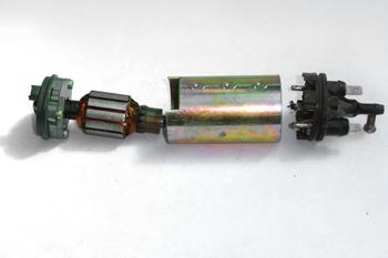 Bomba eléctrica de gasolina. Despiece