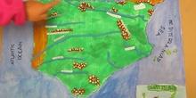 Map of Spain 4ºA