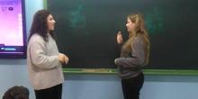 Lengua de Signos. Alumnos 1º ESO PEAC Capital 2 -IES Beatriz Galindo-