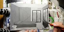 Room from memory in greyscale - Habitación de memoria en escala de grises