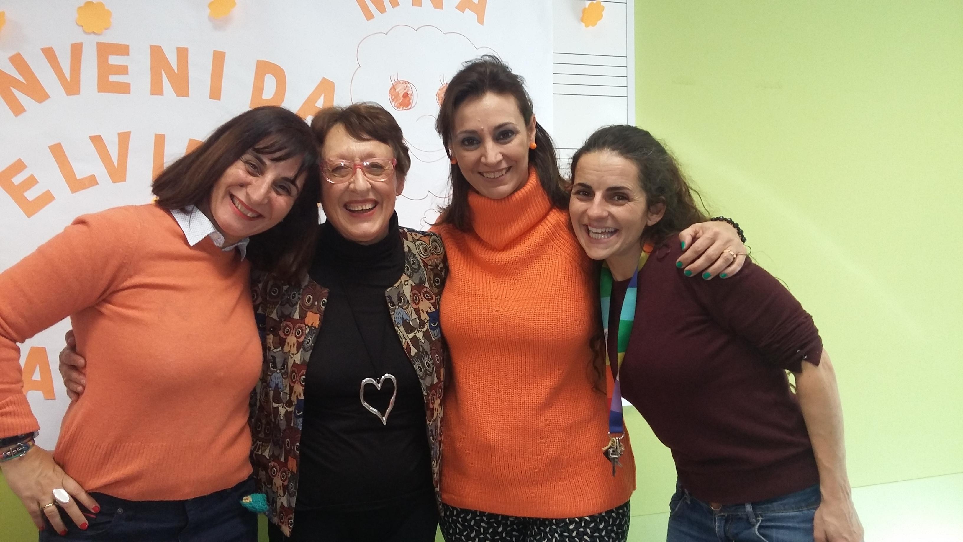 Encuentro con la escritora y actriz Elvira Menéndez 2