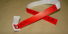 Pulsera de identificación para transfusión