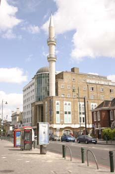 Mezquita en Kingsland Road, Londres