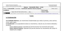 Ficha de Coordinación para 1º ESO