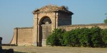Puerta Jardines Palacio Infante don Luís en Boadilla del Monte
