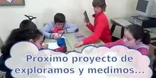 """Presentación del futuro proyecto: Exploramos y medimos """"cuerpos redondos"""""""