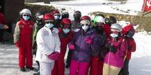 Excursión esquí, Navacerrada.