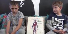 Álvaro Martín y Andrei 4ºD