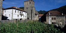 Iglesia de San Cipriano, Valle del Roncal, Navarra