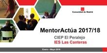 Mentor actúa 2018