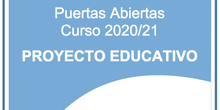 Proyecto Educativo ceip Ágora de Brunete