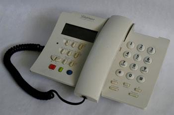 Teléfono analógico DOMO