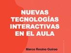Contenido curso Nuevas Tecnología Interactivas en el Aula
