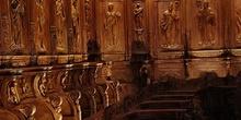 Sillería del coro de la Catedral de Huesca