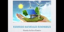 SECUNDARIA - 3°ESO - BIOLOGÍA - RECURSOS NATURALES RENOVABLES - CLAUDIA AUTIERO - FORMACIÓN