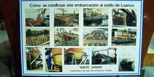 Construcción de una embarcación al estilo de Luanco, Museo Marít