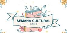 Semana cultural 3 años C