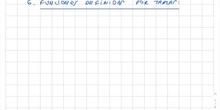 7 Funciones dadas por tablas: interpolacion lineal