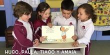 INFANTIL  - 4 AÑOS B - EL LIBRO DE LOS ABRAZOS - ANIMACIÓN A LA LECTURA