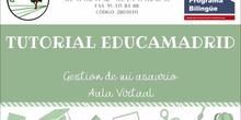 Tutorial administrar cuenta de usuario y primeros pasos aula virtual