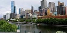 Melbourne y el río Yarra, Australia