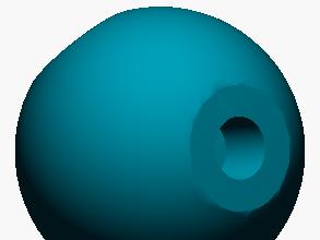 Modelo atómico de Carbono hibridado sp2