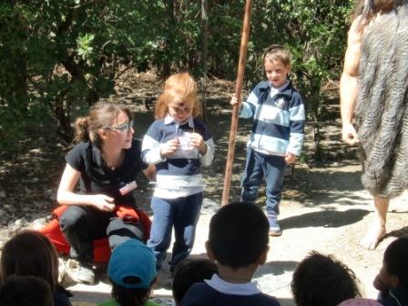 Infantil 4 años en Arqueopinto 2ª parte