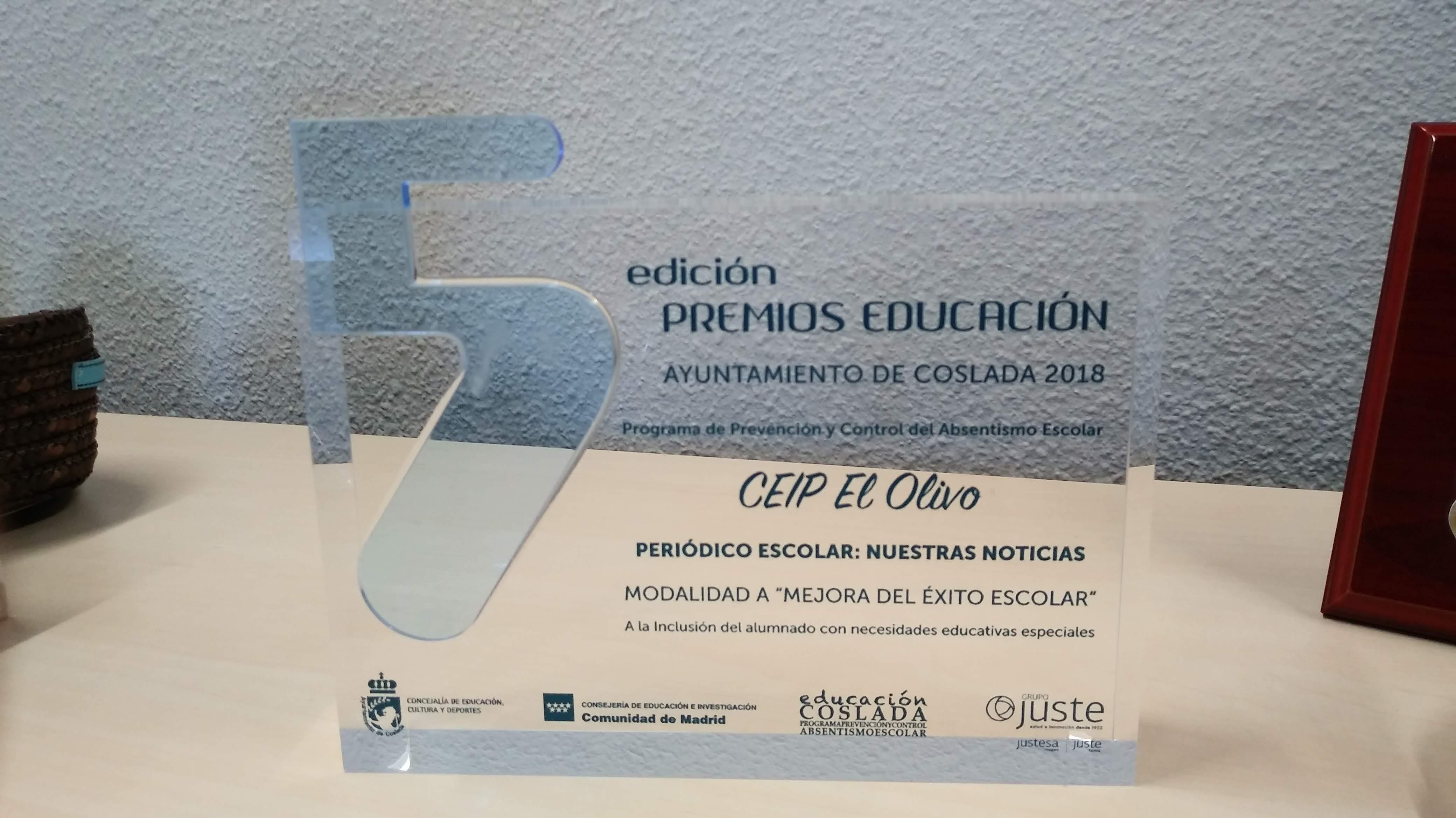 Premios de Educación. Mejora del´éxito escolar 3