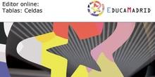 Editor online: Tablas - Celdas