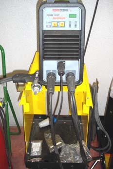 Maquina soldadora de tornillo de aluminio por descarga eléctrica