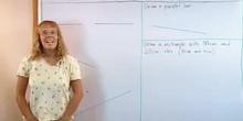 Drawing perpendicular lines