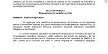 RESOLUCIÓN CONJUNTA DE ADMISIÓN