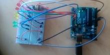 Practica 3 arduino. Potenciometro y ledes