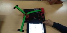 Probando ROBOTICS BT Smart Beginner Set de Fischertechnik
