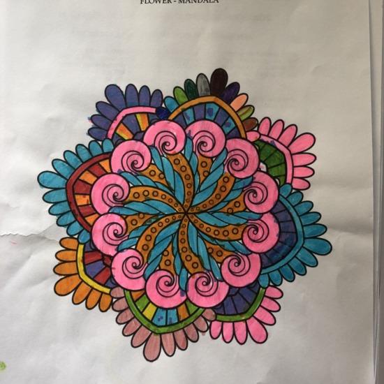 Hugo Amores Flower Mandala