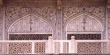 Detalle del Taj Mahal, Agra, India