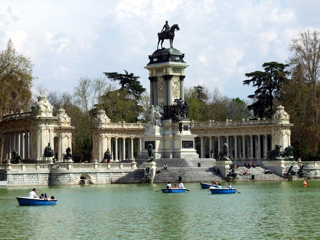 Madrid. Jardines del Buen Retiro.
