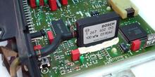 Calculador de inyección. Detalle del sensor de presión