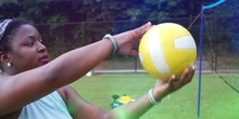 Teaching Volleyball for beginners