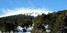 Vista panorámica de Valdesquí, Comunidad de Madrid