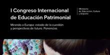 Educación Patrimonial. ACTAS I CONGRESO INTERNACIONAL EDUCACIÓN PATRIMONIAL